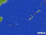 沖縄地方のアメダス実況(日照時間)(2017年02月02日)
