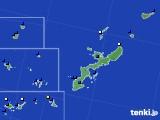 沖縄県のアメダス実況(風向・風速)(2017年02月02日)