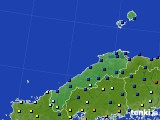 島根県のアメダス実況(日照時間)(2017年02月06日)