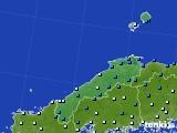 島根県のアメダス実況(気温)(2017年02月06日)