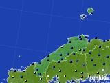 島根県のアメダス実況(日照時間)(2017年02月07日)
