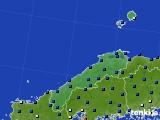 2017年02月09日の島根県のアメダス(日照時間)