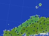 2017年02月23日の島根県のアメダス(日照時間)