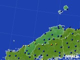 2017年02月26日の島根県のアメダス(日照時間)