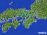 近畿地方のアメダス実況(風向・風速)(2017年03月02日)