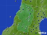 2017年03月07日の山形県のアメダス(風向・風速)