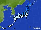 2017年03月08日のアメダス(気温)