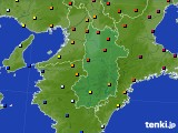 奈良県のアメダス実況(日照時間)(2017年03月20日)