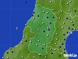 2017年03月23日の山形県のアメダス(風向・風速)