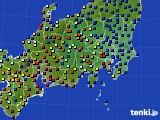 2017年03月27日の関東・甲信地方のアメダス(日照時間)