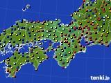 2017年03月27日の近畿地方のアメダス(日照時間)