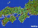 2017年03月28日の近畿地方のアメダス(日照時間)