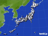 2017年03月28日のアメダス(風向・風速)
