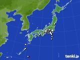 アメダス実況(降水量)(2017年04月01日)