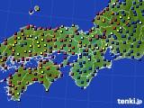 2017年04月01日の近畿地方のアメダス(日照時間)