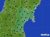 2017年04月01日の宮城県のアメダス(日照時間)