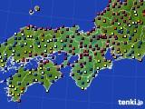 2017年04月02日の近畿地方のアメダス(日照時間)