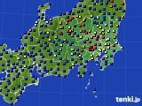 2017年04月07日の関東・甲信地方のアメダス(日照時間)