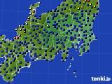 2017年04月08日の関東・甲信地方のアメダス(日照時間)