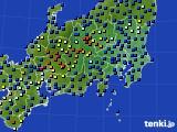 2017年04月09日の関東・甲信地方のアメダス(日照時間)
