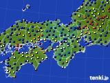 2017年04月09日の近畿地方のアメダス(日照時間)