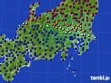 2017年04月10日の関東・甲信地方のアメダス(日照時間)