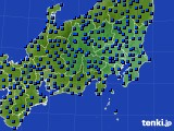 2017年04月11日の関東・甲信地方のアメダス(日照時間)