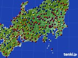 2017年04月12日の関東・甲信地方のアメダス(日照時間)