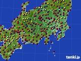 2017年04月13日の関東・甲信地方のアメダス(日照時間)