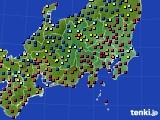 2017年04月19日の関東・甲信地方のアメダス(日照時間)