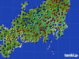 2017年04月20日の関東・甲信地方のアメダス(日照時間)