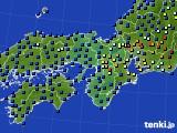 2017年04月20日の近畿地方のアメダス(日照時間)