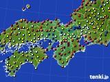 2017年04月27日の近畿地方のアメダス(日照時間)