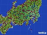 2017年04月28日の関東・甲信地方のアメダス(日照時間)