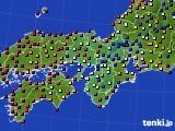 2017年04月29日の近畿地方のアメダス(日照時間)