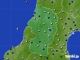 山形県のアメダス実況(風向・風速)(2017年04月30日)