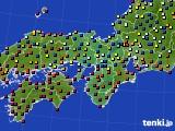 2017年05月01日の近畿地方のアメダス(日照時間)