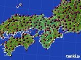 2017年05月02日の近畿地方のアメダス(日照時間)