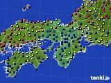 2017年05月03日の近畿地方のアメダス(日照時間)