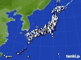 2017年05月03日のアメダス(風向・風速)