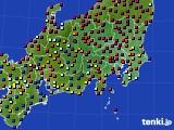 2017年05月04日の関東・甲信地方のアメダス(日照時間)