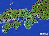 2017年05月04日の近畿地方のアメダス(日照時間)