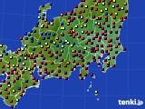 2017年05月05日の関東・甲信地方のアメダス(日照時間)