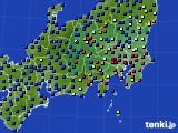 2017年05月06日の関東・甲信地方のアメダス(日照時間)
