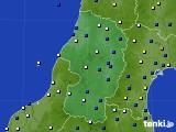 山形県のアメダス実況(風向・風速)(2017年05月08日)