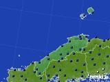 2017年05月10日の島根県のアメダス(日照時間)