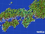 2017年05月11日の近畿地方のアメダス(日照時間)
