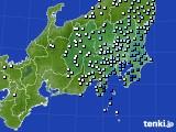 関東・甲信地方のアメダス実況(降水量)(2017年05月13日)