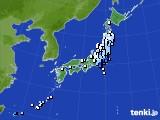 アメダス実況(降水量)(2017年05月13日)