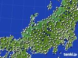 北陸地方のアメダス実況(風向・風速)(2017年05月14日)